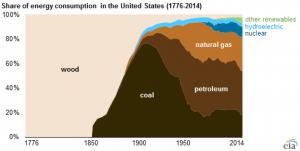 Share of Energy Consumption in the USA